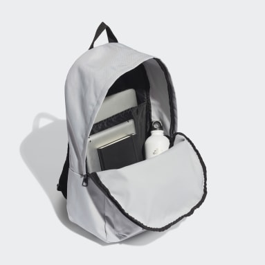 Lifestyle Grey Classic Badge of Sport Backpack