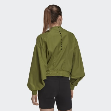 Chaqueta Cover-Up Karlie Kloss Verde Mujer Running