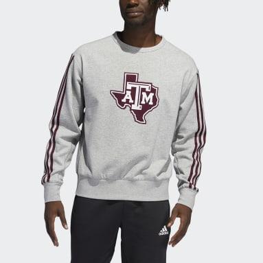 Men's Training Grey Aggies Vintage Crew Sweatshirt