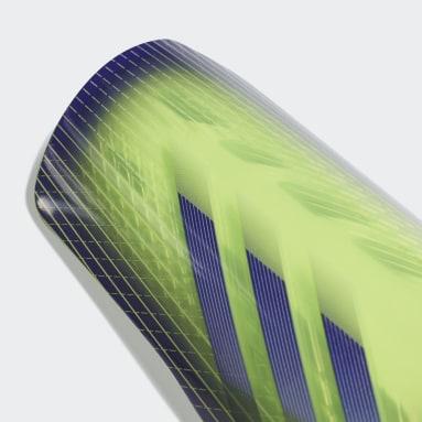 Fodbold Grøn X 20 League benskinner