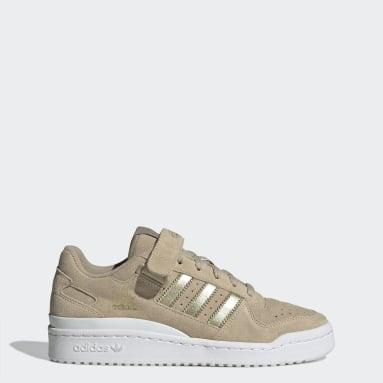 Women Originals Beige Forum Low Shoes