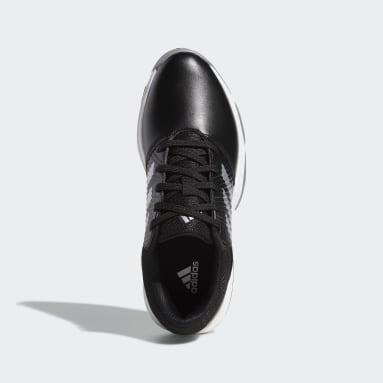 Kids Golf Black CP Traxion Shoes