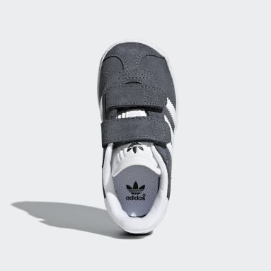 Kids Originals Grey Gazelle Shoes