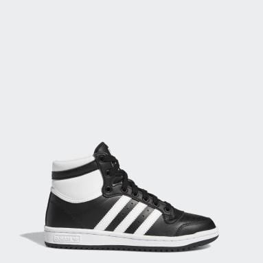 Youth Originals Black Top Ten Shoes