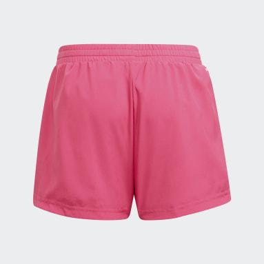 Short adidas Designed To Move 3-Stripes Rose Adolescents Entraînement