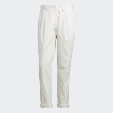 Men's Golf White Adicross Chino Pants