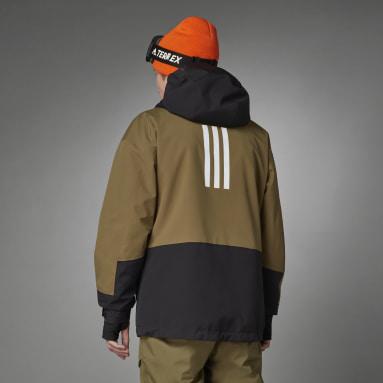 Mænd Vintersport Grøn Terrex MYSHELTER Snow 2-Layer Insulated jakke