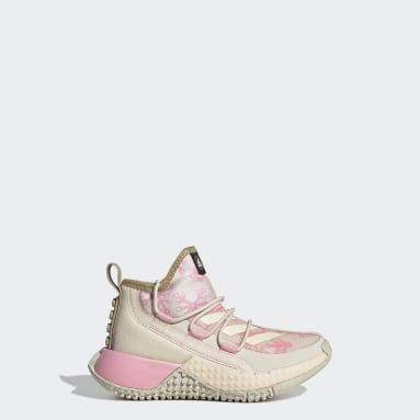 Scarpe adidas x LEGO® Sport Mid Bianco Bambini Running