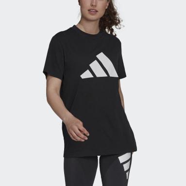 Dam Sportswear Svart adidas Sportswear Future Icons Logo Graphic Tee