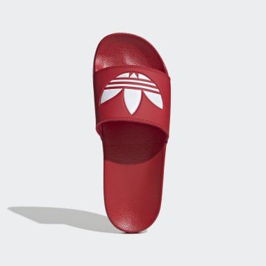 Men's Originals Red Adilette Lite Slides