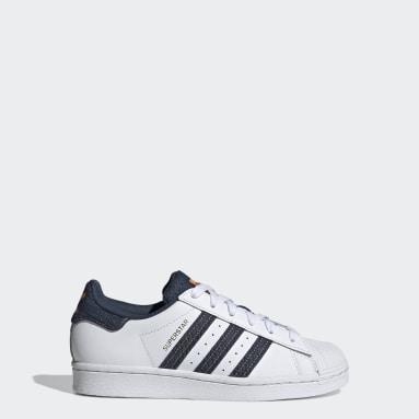 Kinder Originals Superstar Schuh Weiß