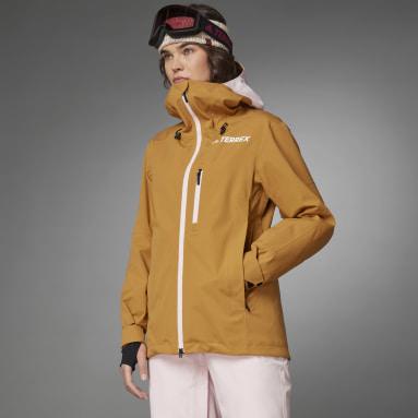 Kvinder TERREX Brun Resort Three-in-One jakke
