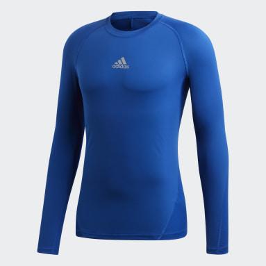 Men's Training Blue Alphaskin Sport Tee