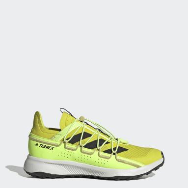 Men TERREX Yellow Terrex Voyager 21 Travel Shoes