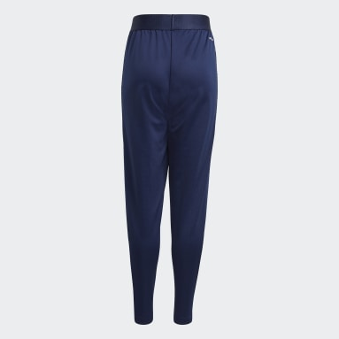 Youth 8-16 Years Football Blue Condivo 21 Primeblue Training Tracksuit Bottoms