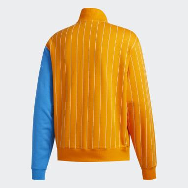 Sweat-shirt FA Blocked Orange Hommes Originals