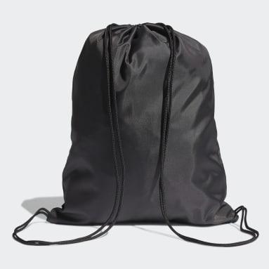 Mochila saco Essentials Logo Negro Voleibol