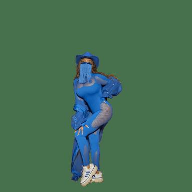 Veste Cover-Up Bleu Femmes Originals