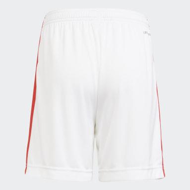 Pantalón corto tercera equipación FC Bayern 21/22 Blanco Niño Fútbol