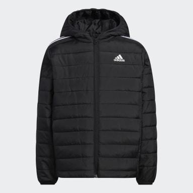 Youth Training Black Puffer Jacket