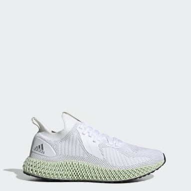 Running White Alphaedge 4D Reflective Shoes