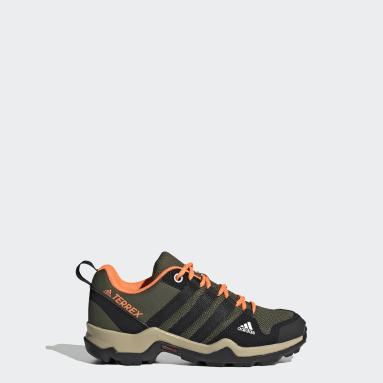 Çocuklar TERREX Yeşil Terrex AX2R Yürüyüş Ayakkabısı