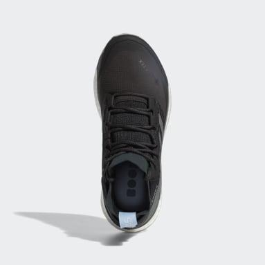 Women's TERREX Grey Terrex Free Hiker Gore-Tex Hiking Shoes