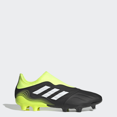 Soccer Black Copa Sense.3 Laceless Firm Ground Cleats