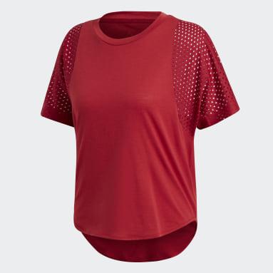 Playera ID Mesh Granate Mujer Sportswear