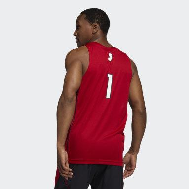 Men's Basketball Red Scarlet Knights NCAA Swingman Jersey