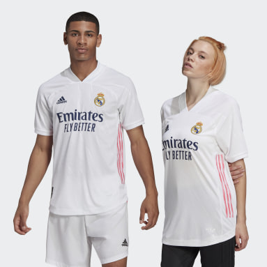 Maillot Domicile Real Madrid 20/21 Authentique Blanc Hommes Football
