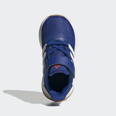 Tenis Run Falcon (UNISEX) Azul Niño Training
