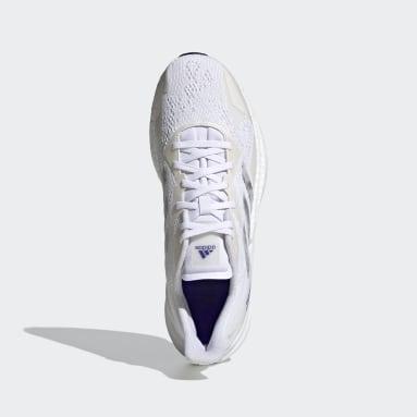 Men Running White X9000L3 Primeblue Shoes