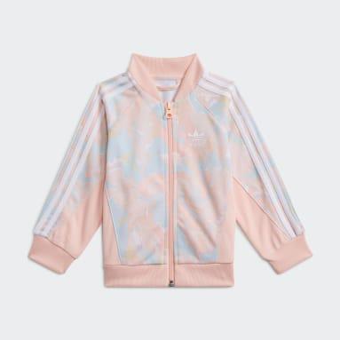 Mädchen Originals Marble Print SST Set Rosa
