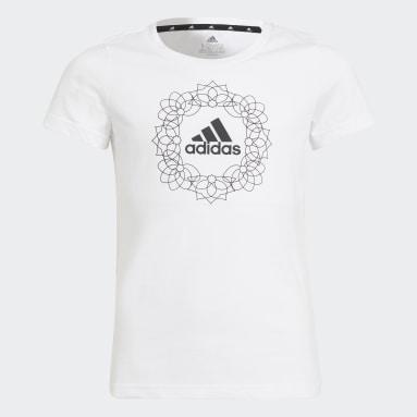 Youth 8-16 Years Sportswear White Graphic T-Shirt