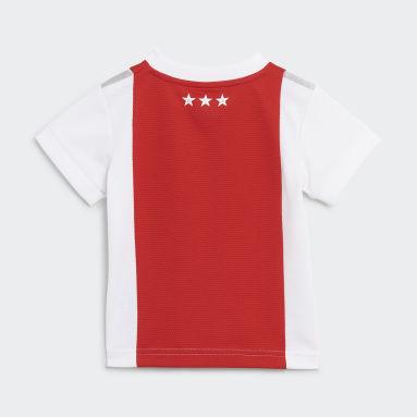 Kids Football White Ajax Amsterdam 21/22 Home Baby Kit