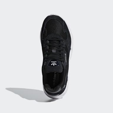 Zapatillas Falcon Negro Mujer Originals