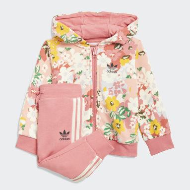 Infant & Toddler Originals Pink HER Studio London Floral Hoodie Set