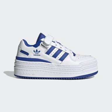 Women Originals White Triple Platforum Lo Shoes