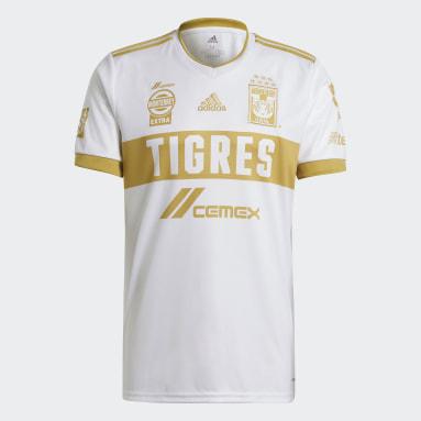 Jersey Tercer Uniforme Tigres UANL 20/21 Blanco Hombre Fútbol