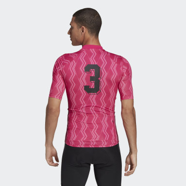 Maillot The Short Sleeve Cycling Graphic Rosa Hombre Ciclismo