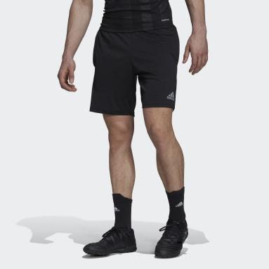Men Football Black Tiro Reflective Shorts