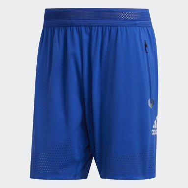 Heren Hardlopen Blauw HEAT.RDY 7-Inch Short