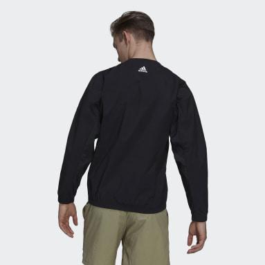 Men Sportswear Black adidas Sportswear X-City Packable Sweatshirt