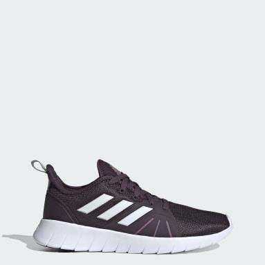 Women Running Purple ASWEEMOVE Shoes