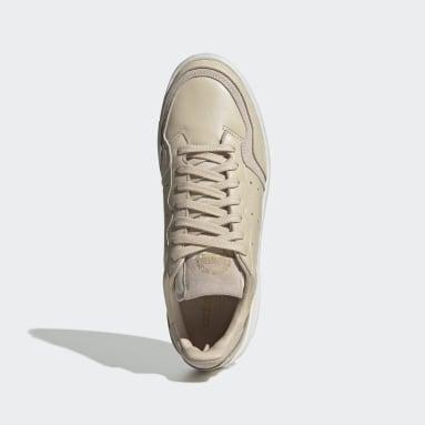 Women Originals Beige Supercourt Shoes