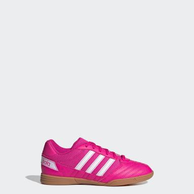 Boys Football Pink Super Sala Boots