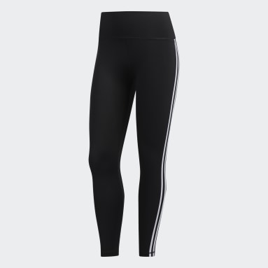 Tight 7/8 Believe This 2.0 3-Stripes Nero Donna HIIT