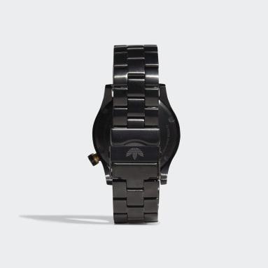 Originals zwart Cypher_M1_SST Horloge
