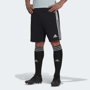 Muži Fotbal černá Šortky Tiro